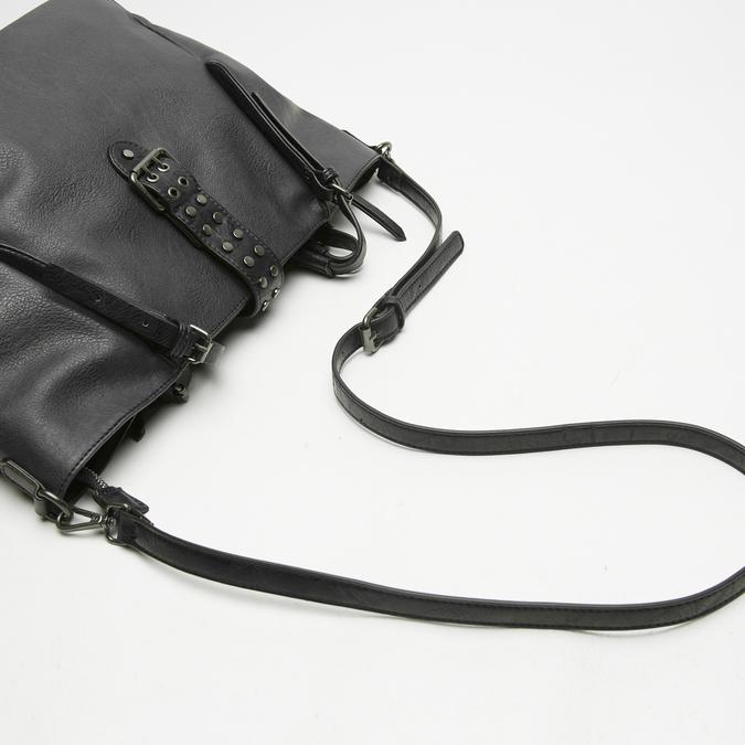 sac cabas à détail clouté bata, Noir, 961-6403 - 15