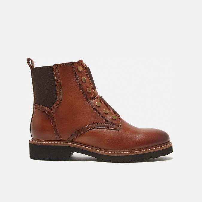 bottines en vrai cuir bata, Brun, 594-4849 - 13