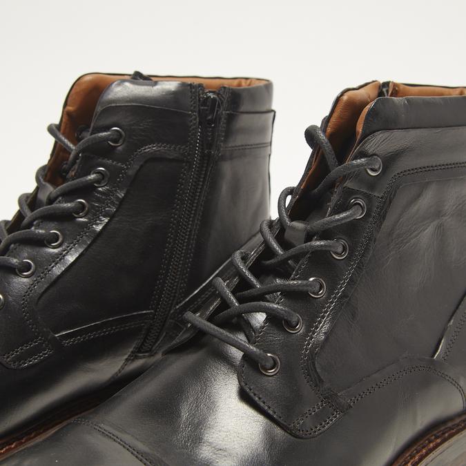 bottines en vrai cuir homme bata, Noir, 894-6276 - 15