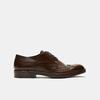 chaussures basses brogue en cuir bata, Brun, 824-4300 - 13